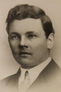 Bild på Nämdö Hembygdsförenings grundare, Sigfrid Jonsson